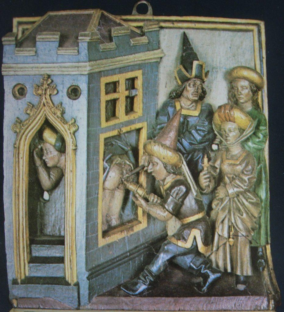 9.- Cauterización de Hemorroides en el S. XV.