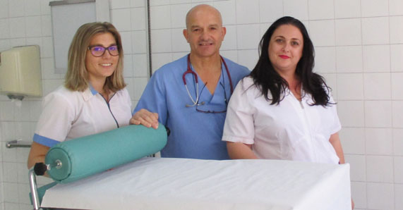 Equipo médico de la Clínica Proctológica del Dr. Tomas J. Paco Buendia